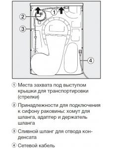Сушильная машина Miele TWD440WP White Edition