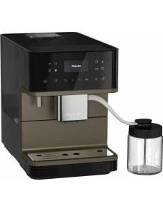 Кофемашина отдельностоящая Miele CM6360 чёрная бронза OBBP