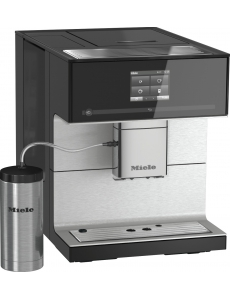 Кофемашина отдельностоящая Miele CM7350 OBSW черный обсидиан