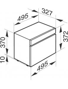 Пароварка отдельностоящая Miele DG 6010 Черный обсидиант