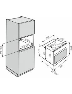 Духовой шкаф компактный Miele H6200B EDST/CLST сталь CleanSteel