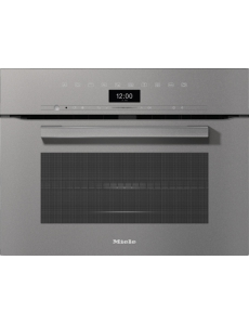 Духовой шкаф с СВЧ Miele H7440BM GRGR графитовый серый