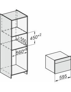 Духовой шкаф с СВЧ Miele H7640BM GRGR графитовый серый