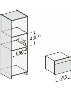 Духовой шкаф с СВЧ Miele H7840BM BRWS бриллиантовый белый