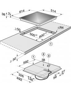 Панель конфорок HiLight MieleKM 5603