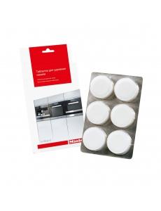 Таблетки для удаления накипи для кофемашин, плит/духовок, пароварок не под давлением, гладильных сис