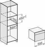 Духовой шкаф с СВЧ Miele H7440BMX BRWS бриллиантовый белый