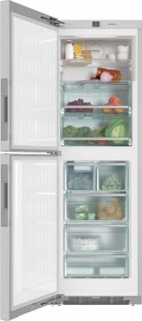 Отдельно стоящий холодильник-морозильник Miele KFNS28463E ed/cs сталь CleanSteel