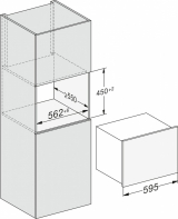 Встраиваемый винный холодильник Miele KWT7112iG ed/cs сталь
