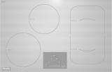 Индукционная панель конфорок Miele KM6349-1,встр.заподлицо, цвет-белый